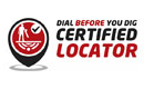 dial before you dig certified locator