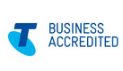 Telstra accredited business